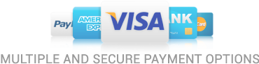 Multiple and Secure Payment Options